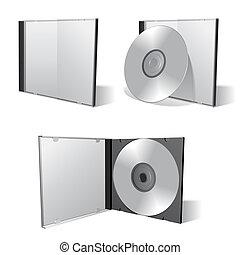 Cd box set. - Cd boxes and cds.