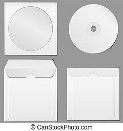 CD Case, vector eps10 illustration
