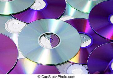 cd, cd-rom, en, dvd
