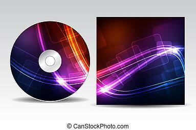 cd, cobertura, desenho