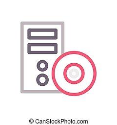 CD color line icon