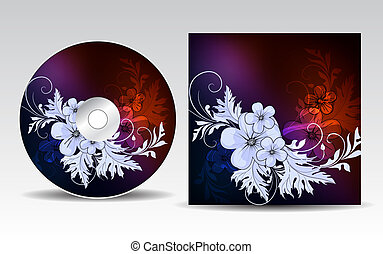 cd, cubierta, diseño