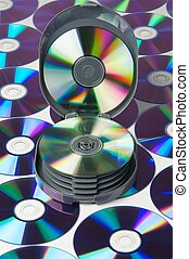 CD disks and case.