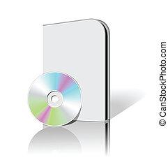 cd, dvd, caja