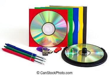 CD / DVD CD, envelopes for disks