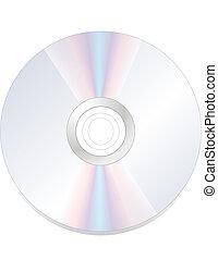 cd, dvd, disco, rom, aislado