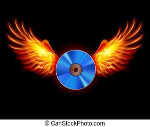 cd-fiery, 翼