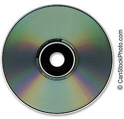 cd, optisch, schijf, formaat