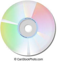 Cd Rom - Cd rom software disk.
