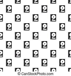 CD rom pattern, simple style - CD rom pattern. Simple...