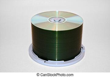 cd spindle clean