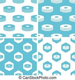 CD stack patterns set