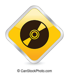 CD yellow square icon