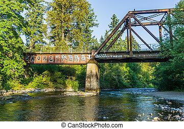 Cdear River Under Bridge 2