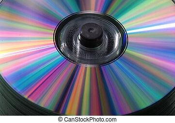 CDs pile