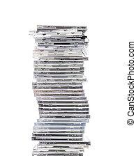 cd`s, stack