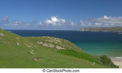 Ceannabeinne Beach, North Of Scotland - Native Version -...