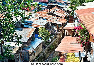 cebu, favelas