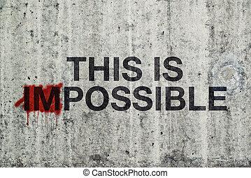 ceci, impossible, concept