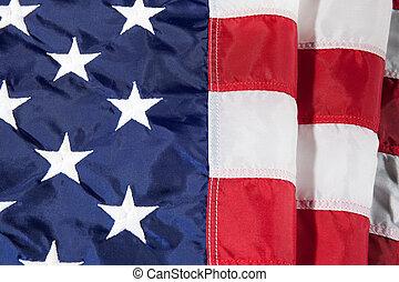 ceci, july., drapeau, américain, quatrième