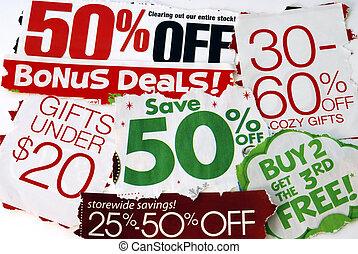 ceci, saison, vente, gratuite, affaires, don't, vacances, ...