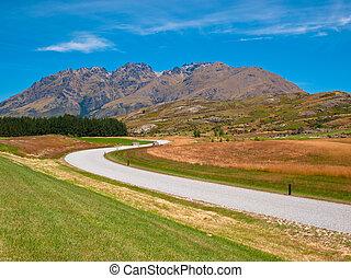 Cecil peak mountain road