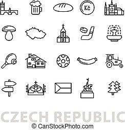 ceco, venti, repubblica, icone