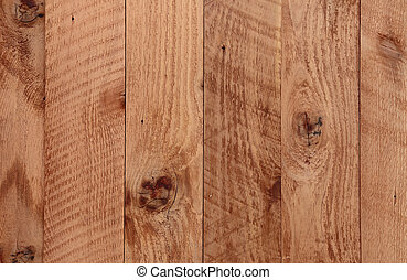A portion of a door made of recycled western red cedar.