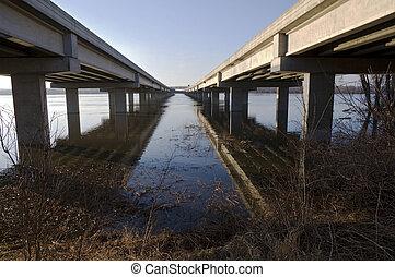 Cedar Avenue Bridge Crossing Minnesota River