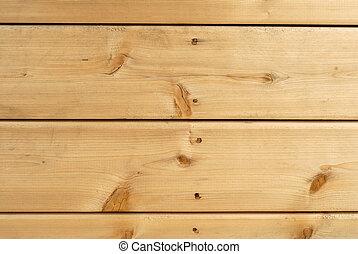 Cedar Boards - Wooden Cedar Deck Boards Nailed For...