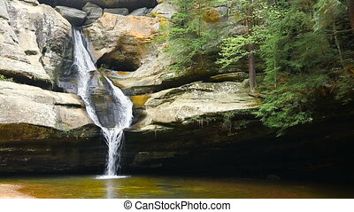 Cedar Falls in the Hocking Hills Loop - Cedar Falls, a...