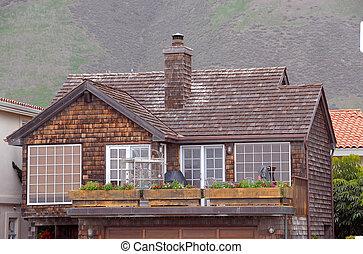 Cedar Shingled House
