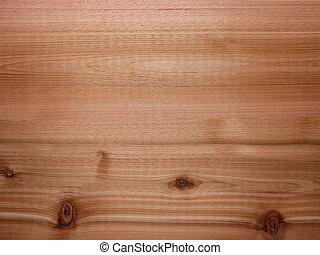 Cedar wood background panel