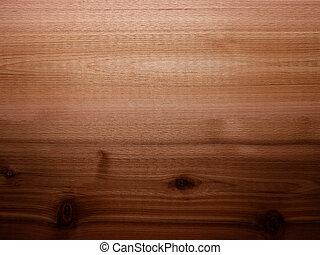 Cedar wood background panel with lighting gradient