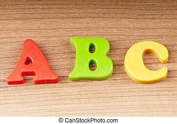 cedo educação, conceito, com, letras