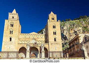 cefalu, cathedral-basilica