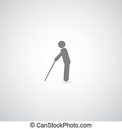 cego, símbolo