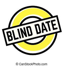 cego, selo, branca, impressão, data