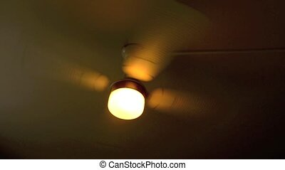 Spinning ceiling fan in the room stock footage search stock videos ceiling air fan aloadofball Gallery