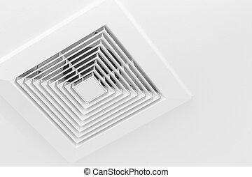 Ceiling Airduct. Clean Air Duct. Toilet Air Ventilate.