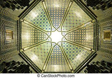 Ceiling in Samarkand