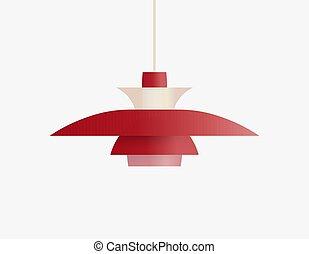 Ceiling lamp for scandinavian interior, classic danish ...