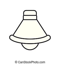 ceiling lamp icon