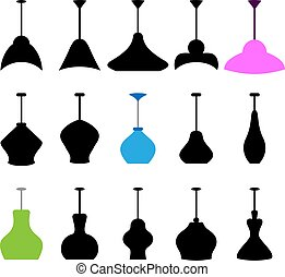 Ceiling Lamp Icon Vector Illustration