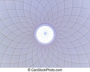 Ceiling of a modern building