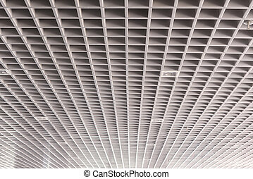ceiling roof structure of the modern building