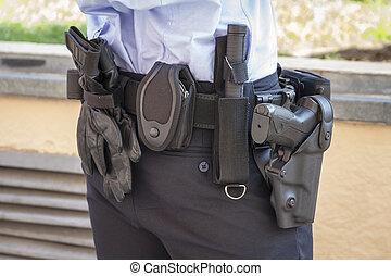 ceinture, police