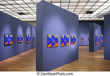 celý, umění, právě, tato, kino, 5., fotografie, filtrovaný, chodba