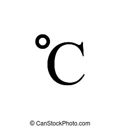 Celcius Icon Conceptual Vector Illustration Design