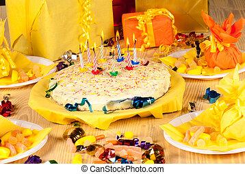 celebração aniversário
